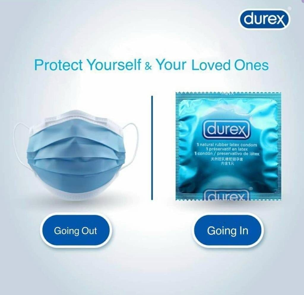 Covid Ad By Durex